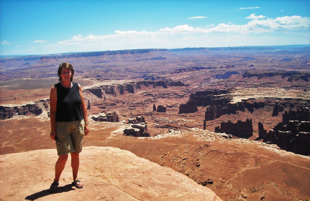 Me in Canyonlands National Park in 2009.