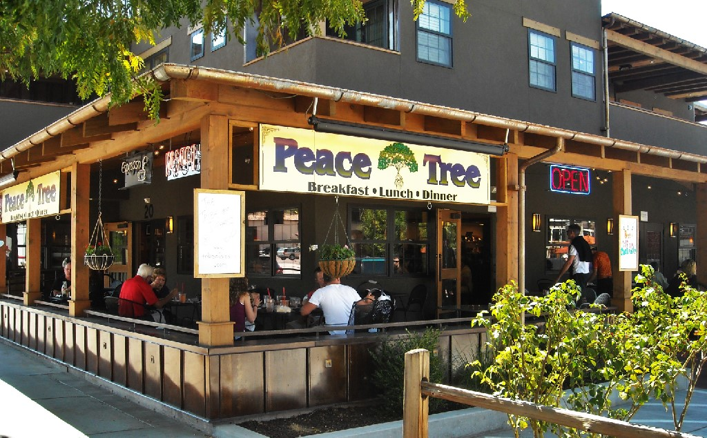 The Peace Tree Cafe.