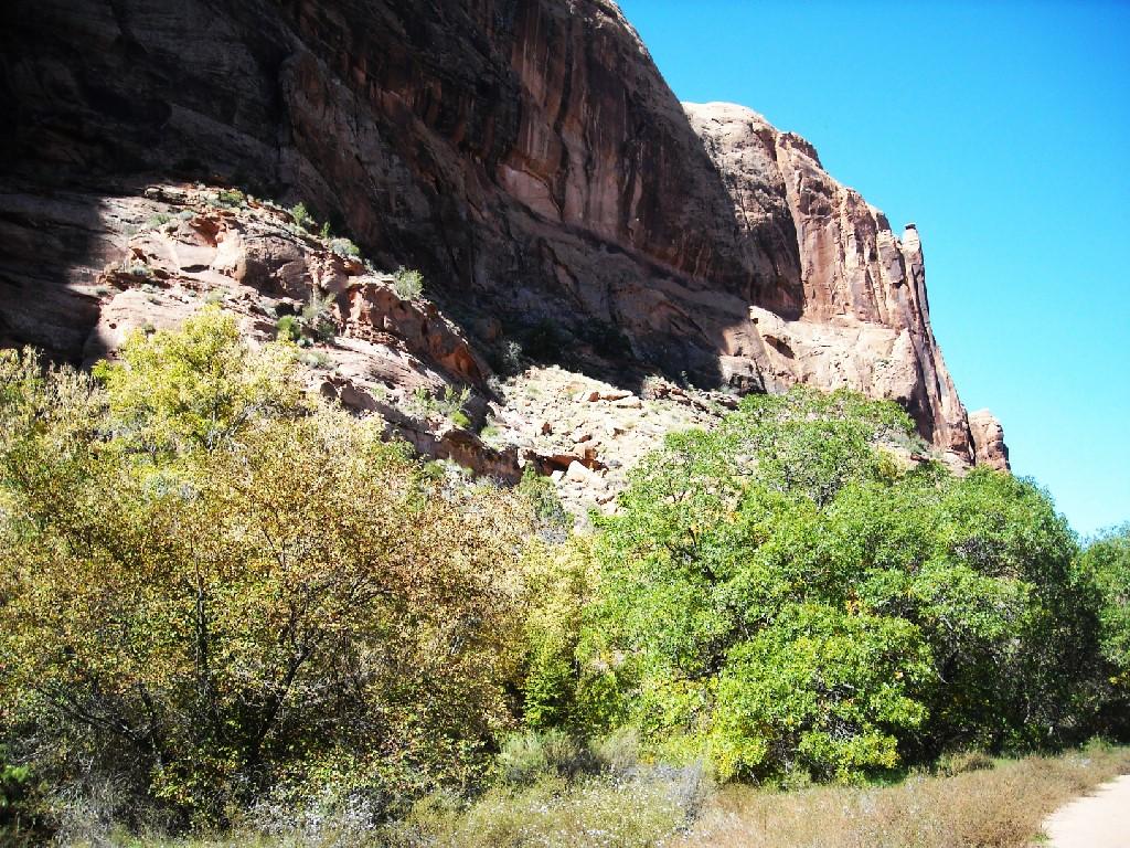 Hiking Negro Bill Canyon.