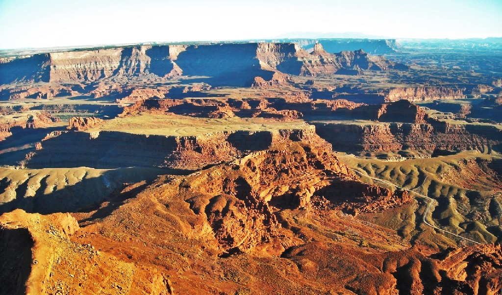 A view from Dead Horse Point.