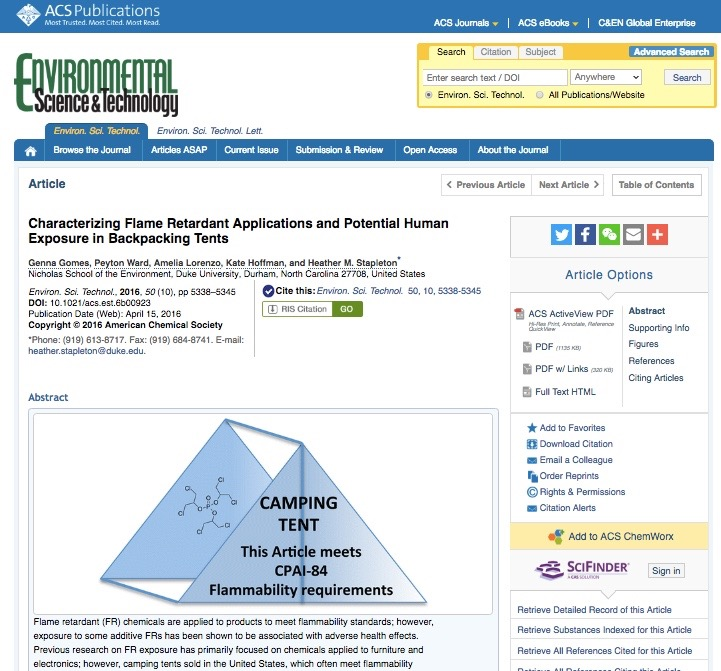 The living clean guide to camping gear part 2 shelters an rei sponsored study on the hazards of fire retardants in backpacking tents fandeluxe Images