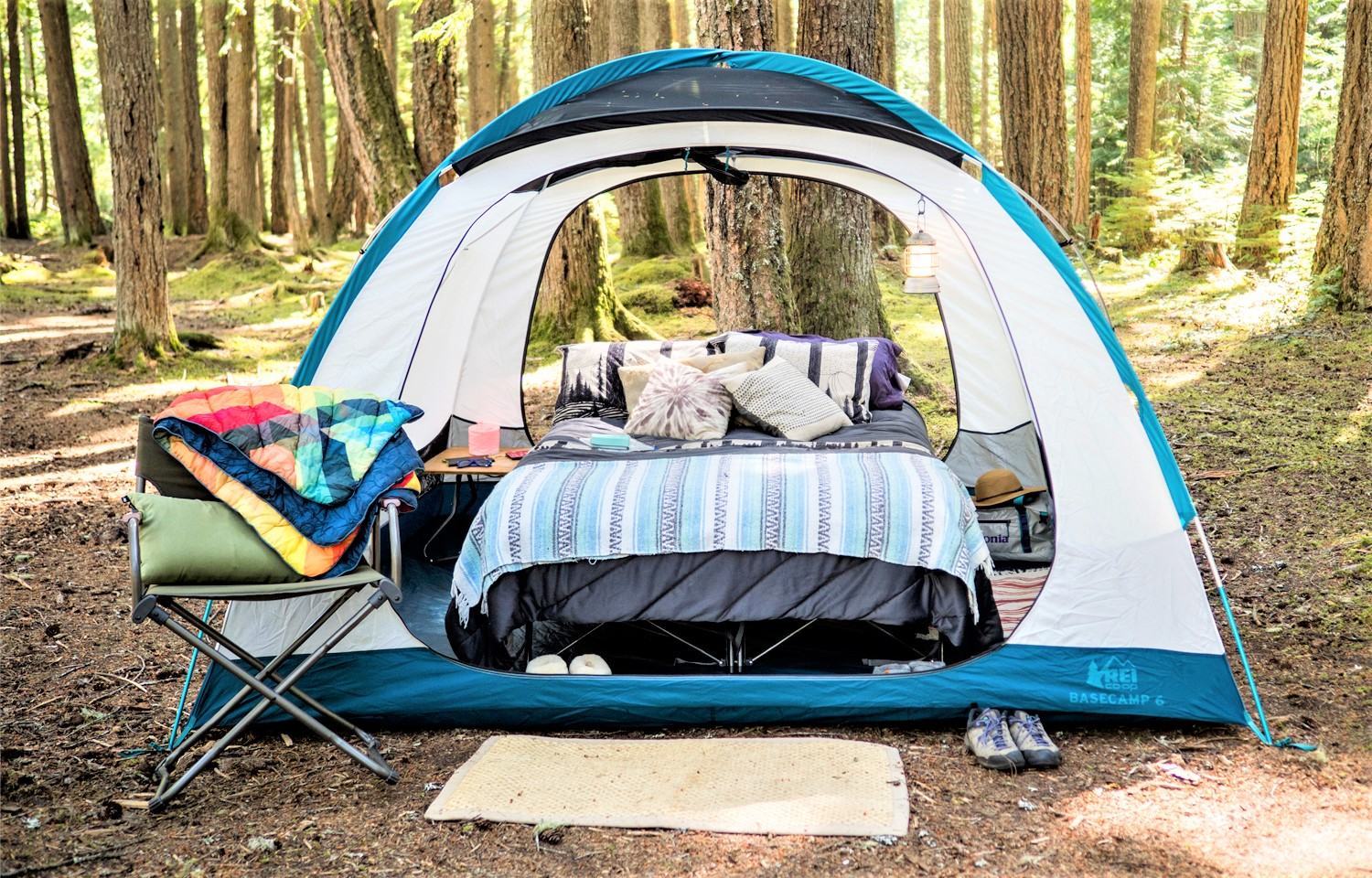 The Living Clean Guide to Non-Toxic Camping Gear - Car