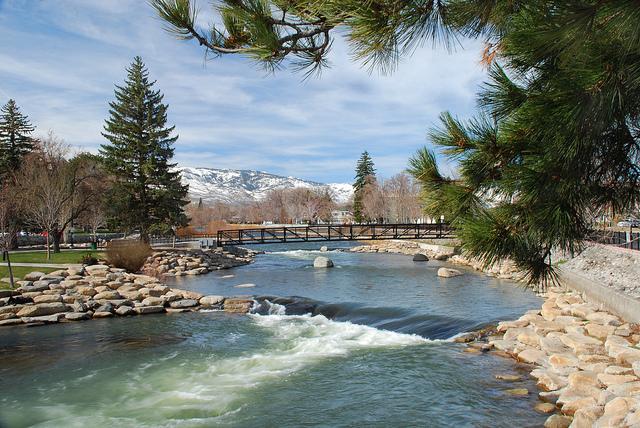 Truckee River Reno