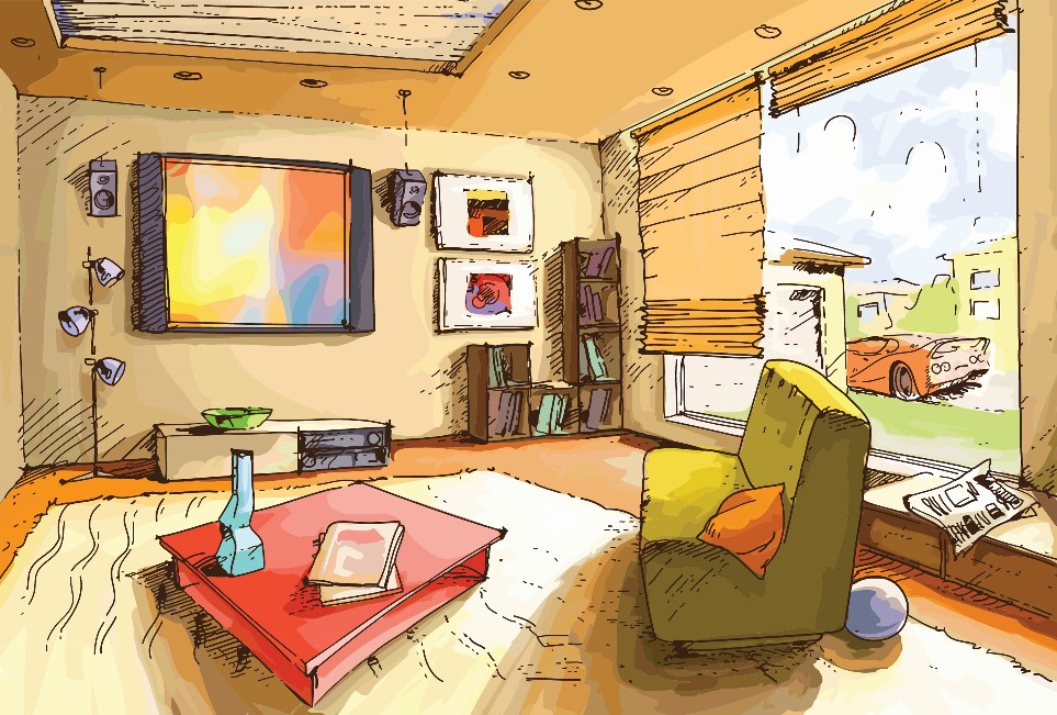 drawings of living rooms the mold avoider s dilemma what should i do about my 16101