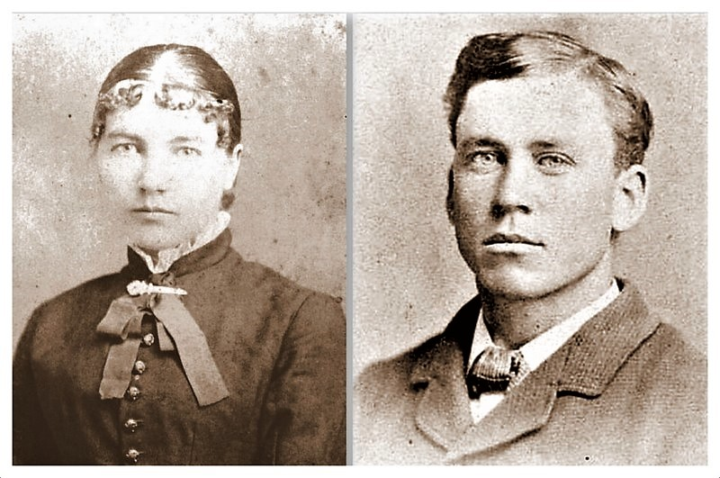 Laura and Almanzo Portraits