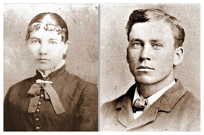 Laura and Almanzo Portraits